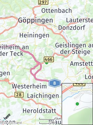 Here Map of Bad Ditzenbach