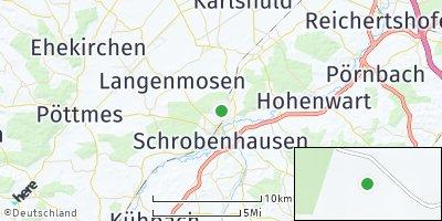 Google Map of Högenau