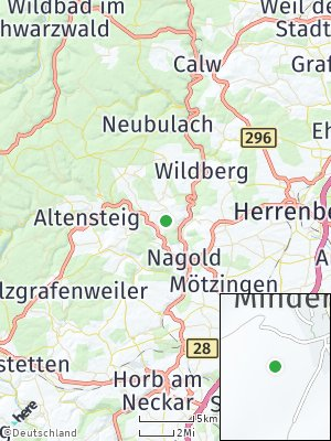 Here Map of Mindersbach