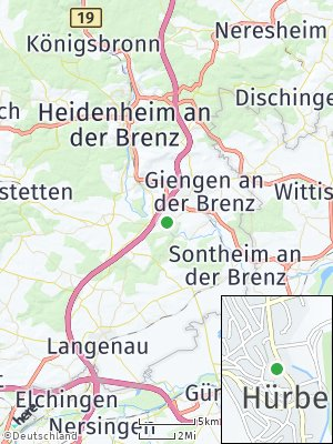 Here Map of Hürben