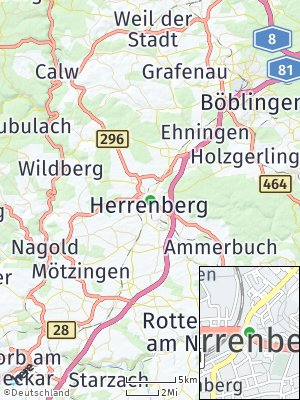Here Map of Herrenberg