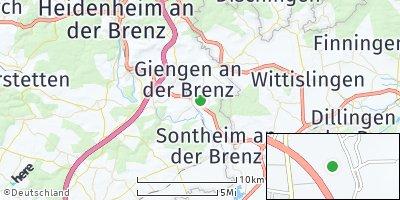 Google Map of Hermaringen