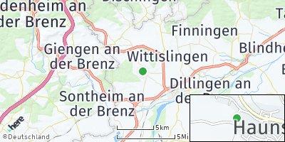 Google Map of Haunsheim