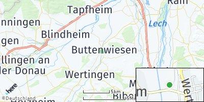 Google Map of Buttenwiesen