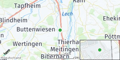 Google Map of Nordendorf