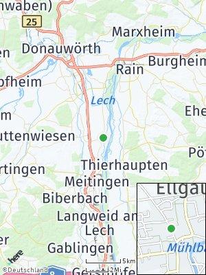 Here Map of Ellgau