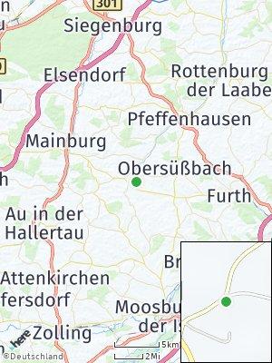 Here Map of Volkenschwand