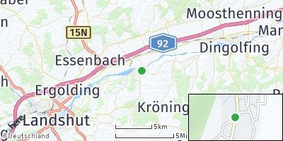 Google Map of Niederaichbach