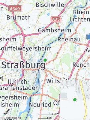 Here Map of Auenheim