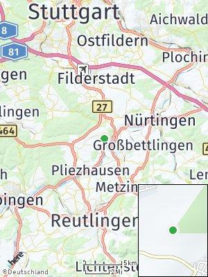 Here Map of Neckartenzlingen