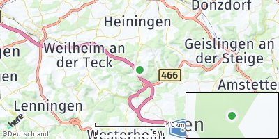 Google Map of Gruibingen