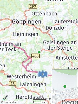 Here Map of Deggingen