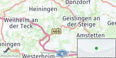 Google Map of Deggingen