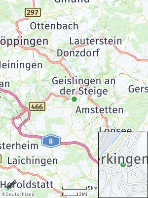 Here Map of Bad Überkingen