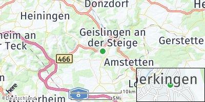 Google Map of Bad Überkingen