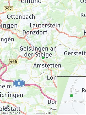 Here Map of Hofstett am Steig