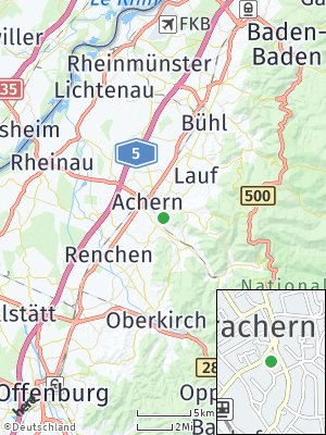 Here Map of Oberachern