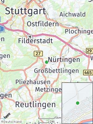 Here Map of Neckartailfingen