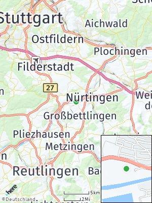 Here Map of Neckarhausen