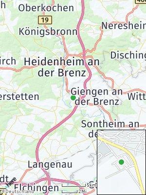 Here Map of Herbrechtingen