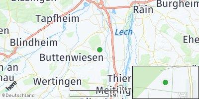 Google Map of Allmannshofen