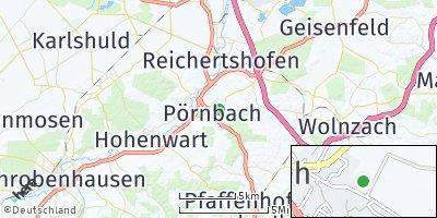 Google Map of Pörnbach