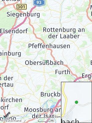 Here Map of Obersüßbach