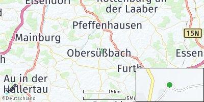 Google Map of Obersüßbach