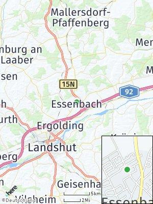 Here Map of Essenbach