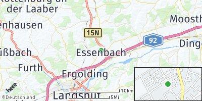 Google Map of Essenbach
