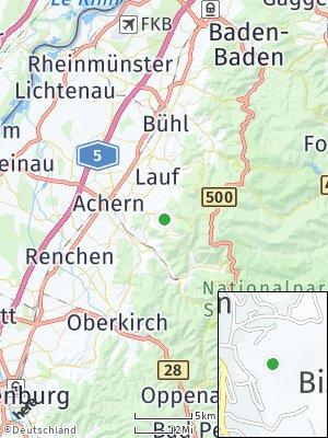 Here Map of Sasbachwalden