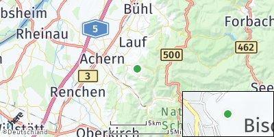 Google Map of Sasbachwalden