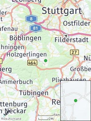 Here Map of Dettenhausen