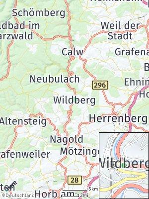 Here Map of Wildberg