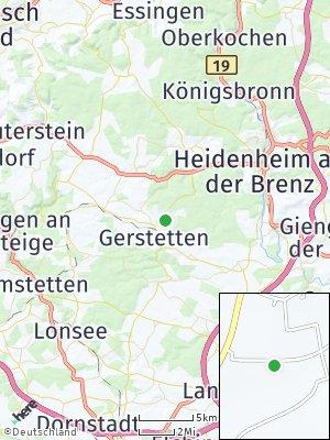 Here Map of Gerstetten