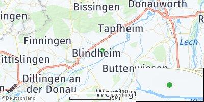 Google Map of Blindheim