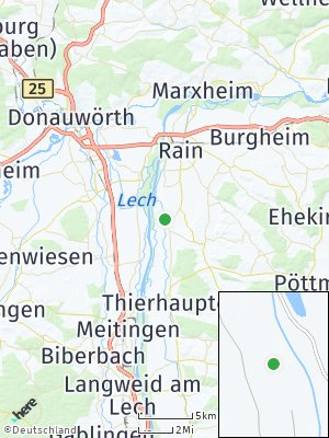 Here Map of Münster / Lech