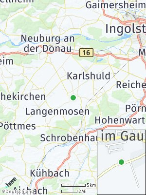 Here Map of Berg im Gau