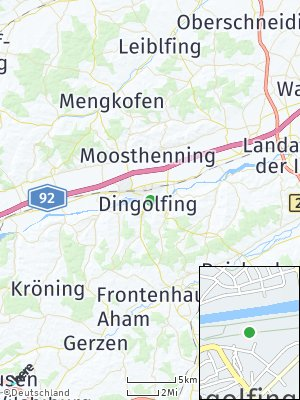 Here Map of Dingolfing