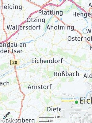 Here Map of Eichendorf