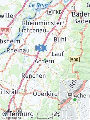 Here Map of Achern