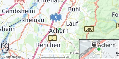Google Map of Achern