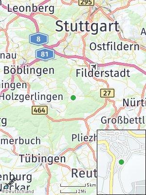 Here Map of Waldenbuch