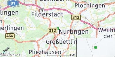 Google Map of Aichtal