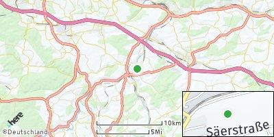 Google Map of Nürtingen