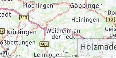 Google Map of Holzmaden