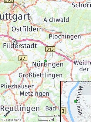 Here Map of Oberensingen