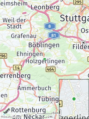 Here Map of Holzgerlingen
