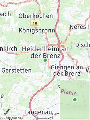 Here Map of Mergelstetten