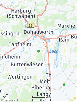 Here Map of Mertingen